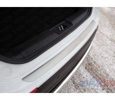 Chery Tiggo 5 2014- Накладка на задний бампер (лист шлифованный) ( шт ) Артикул: CHERTIG514-21