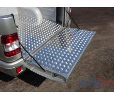 UAZ Pickup 2015- Защитный алюминиевый вкладыш в кузов автомобиля (борт) ( шт ) Артикул: UAZPIC2016-02