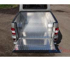 UAZ Pickup 2015- Защитный алюминиевый вкладыш в кузов автомобиля (комплект) ( компл ) Артикул: UAZPIC2016-04