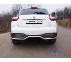 Nissan Juke 2014- (2WD) Решетка заднего бампера ( шт ) Артикул: NISJUK2WD14-07