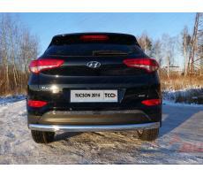 Hyundai Tucson 2015- Решетка на задний бампер (лист) ( шт ) Артикул: HYUNTUC15-16