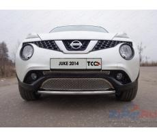 Nissan Juke 2014- (2WD) Решетка радиатора верхняя ( шт ) Артикул: NISJUK2WD14-05