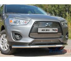 Mitsubishi ASX 2013- Решетка радиатора верхняя (лист) ( шт ) Артикул: MITSASX13-16