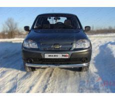 Chevrolet Niva (Bertone Edition) 2011- Решётка радиатора верхняя 12 мм ( шт ) Артикул: CHEVNIV12-06