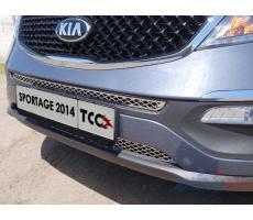 Kia Sportage 2014-2016 Решётка радиатора нижняя (лист) ( шт ) Артикул: KIASPORT14-17