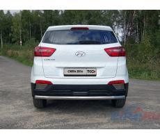 Hyundai Creta 2016- Решетки заднего бампера (лист) ( шт ) Артикул: HYUNCRE16-02