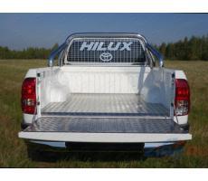 Toyota Hilux 2015- Защитный алюминиевый вкладыш в кузов автомобиля (борт) ( шт ) Артикул: TOYHILUX15-20