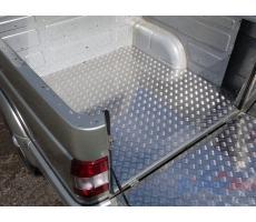 UAZ Pickup 2015- Защитный алюминиевый вкладыш в кузов автомобиля (дно) ( шт ) Артикул: UAZPIC2016-33