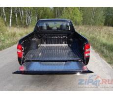 Mitsubishi L200 2015- Защитный алюминиевый вкладыш в кузов автомобиля (дно, борт) ( шт ) Артикул: MITL20015-21