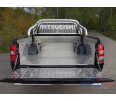 Mitsubishi L200 2015- Защитный алюминиевый вкладыш в кузов автомобиля (комплект) ( компл ) Артикул: MITL20015-22