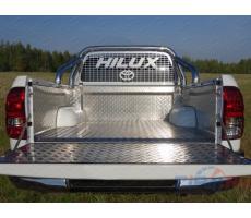 Toyota Hilux 2015- Защитный алюминиевый вкладыш в кузов автомобиля (комплект) ( компл ) Артикул: TOYHILUX15-19