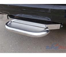 Toyota Land Cruiser 150 Prado 2013- Задняя подножка (нерж. лист) 60,3 мм (под фаркоп) ( шт ) Артикул: TOYLC15013-16