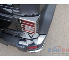 Jeep Wrangler 3D (3,6) 2006- Защита задних фонарей (шлифованная) ( шт ) Артикул: JEEPWRAN3D(3.6)14-14