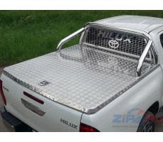 Toyota Hilux 2015- Крышка кузова (алюминий) ( шт ) Артикул: TOYHILUX15-23